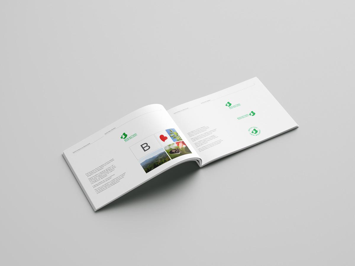 BZB brand book budowa znaku