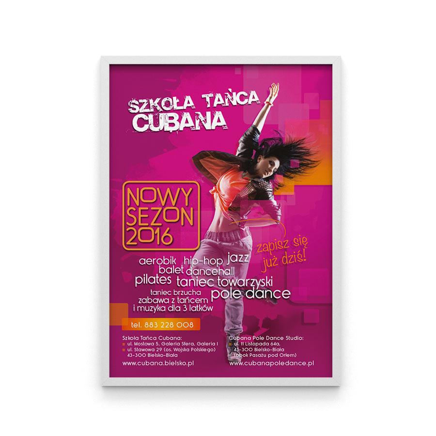 Szkoła Tańca Cubana plakat