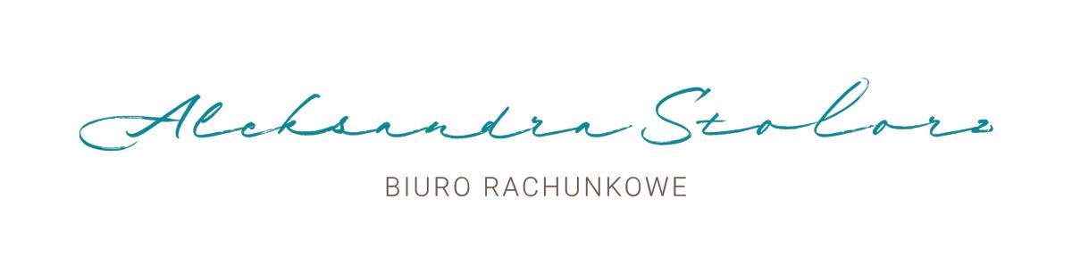 STOLORZBiuro Rachunkowe Aleksandra Stolorz Logo_ALEKSANDRA_LogoPodstawowe