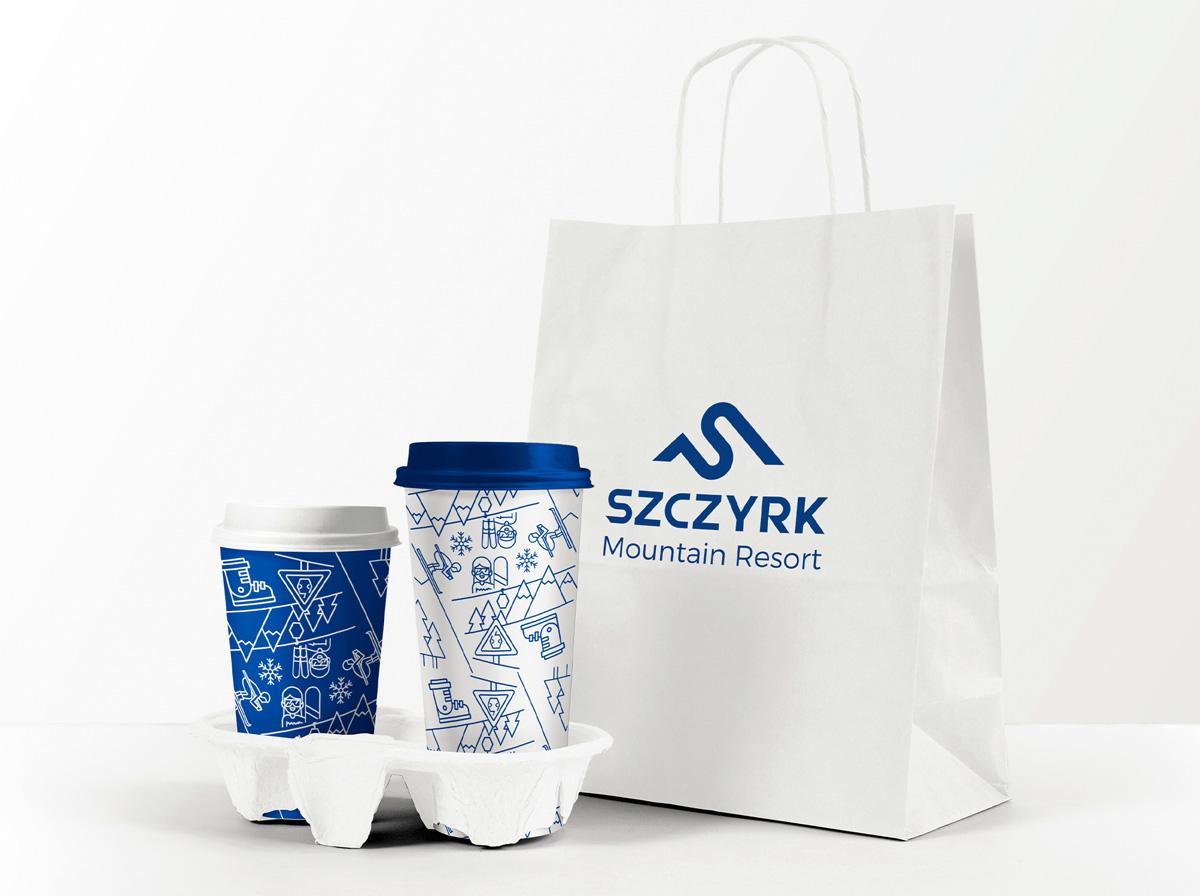 Projektowanie graficzne Szczyrkowski – materiały promujące