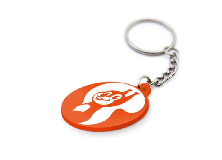 Charakter logo – brelok