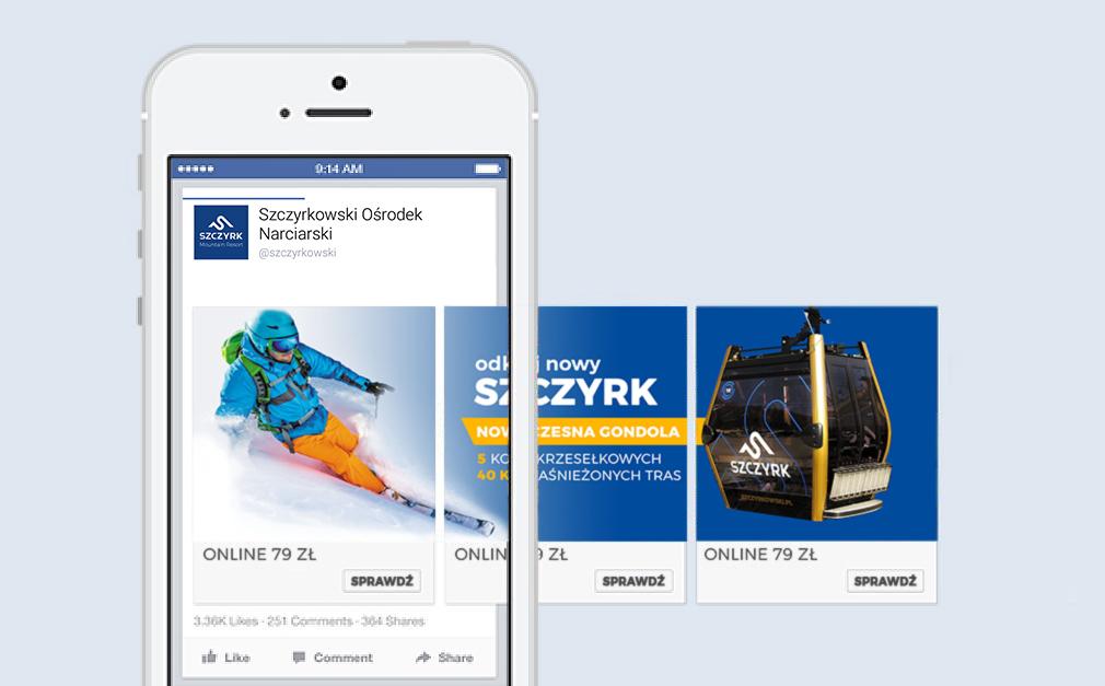 Szczyrkowski Kampania Facebook ADS karuzela
