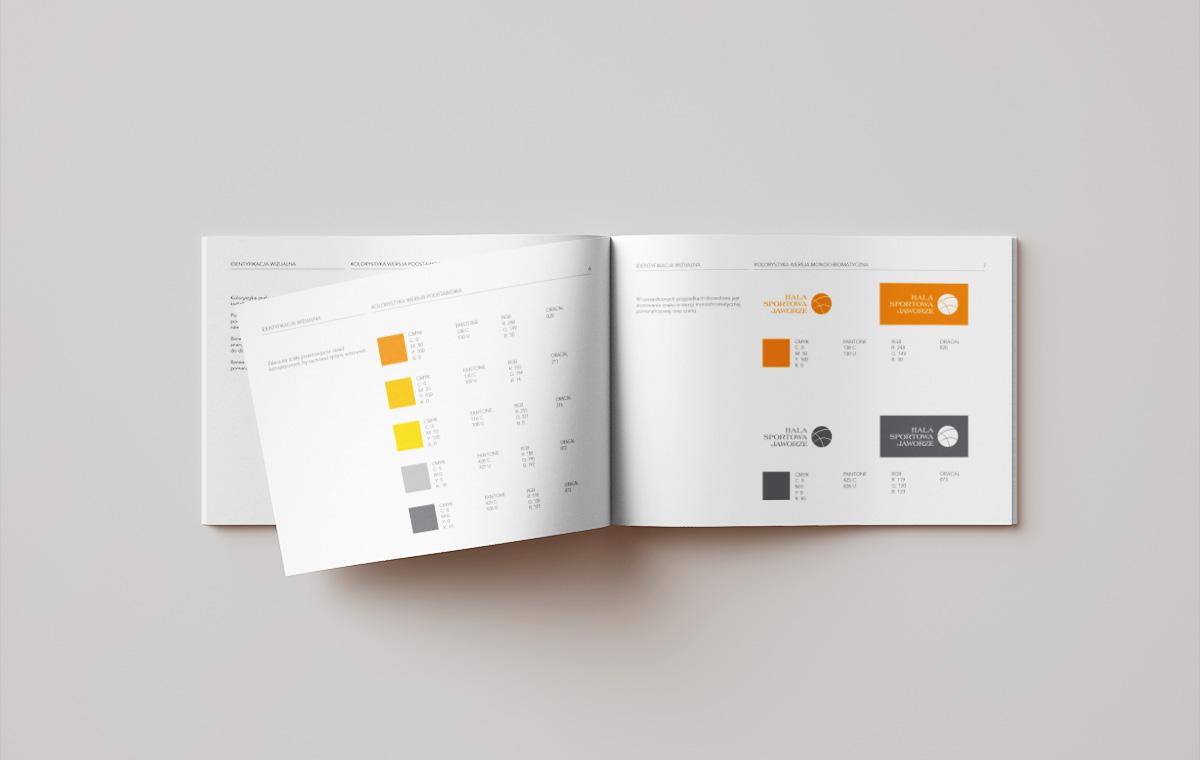 Kolorystyka systemu identyfikacji wizualnej