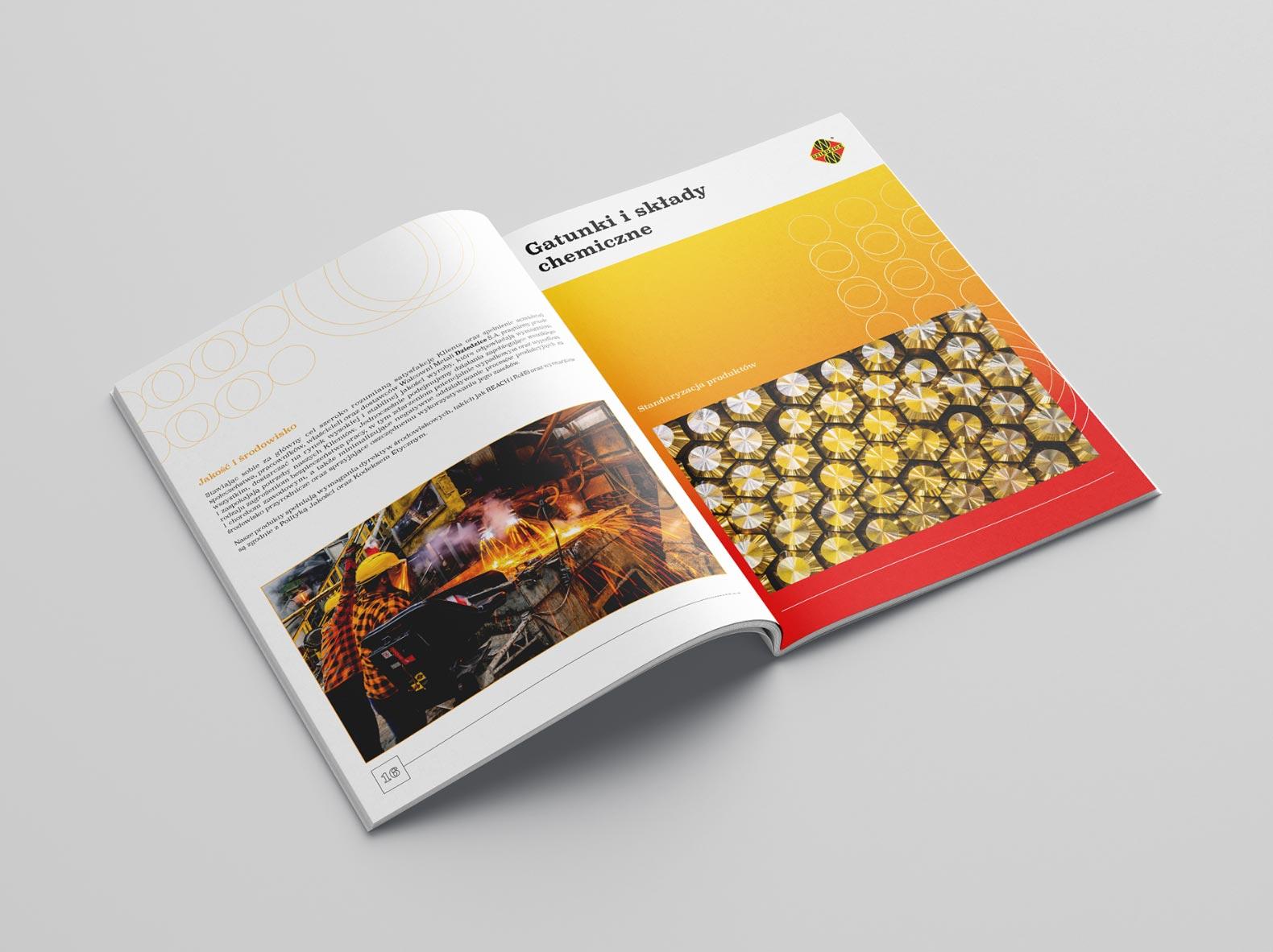 Zastosowanie stylu wizualnego w projekcie katalogu