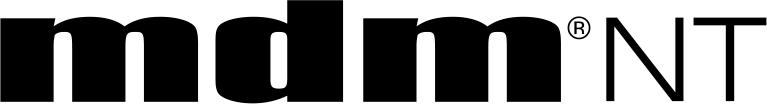 logo mdm®NT