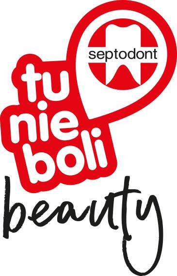 Logo Tu nie boli Septodont beauty