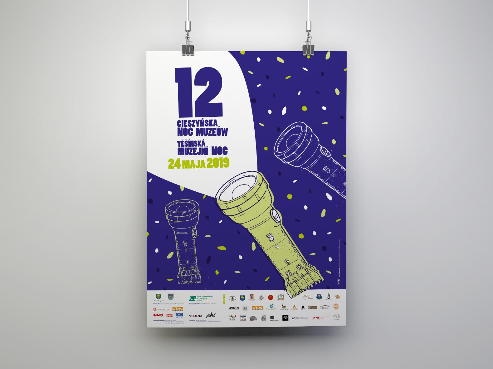 Noc Muzeów – plakat