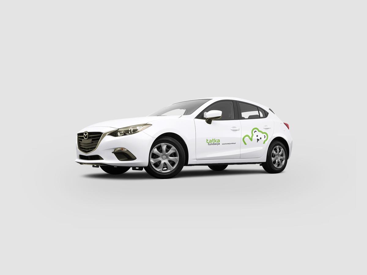Projekt na samochód Fundacji Łatka
