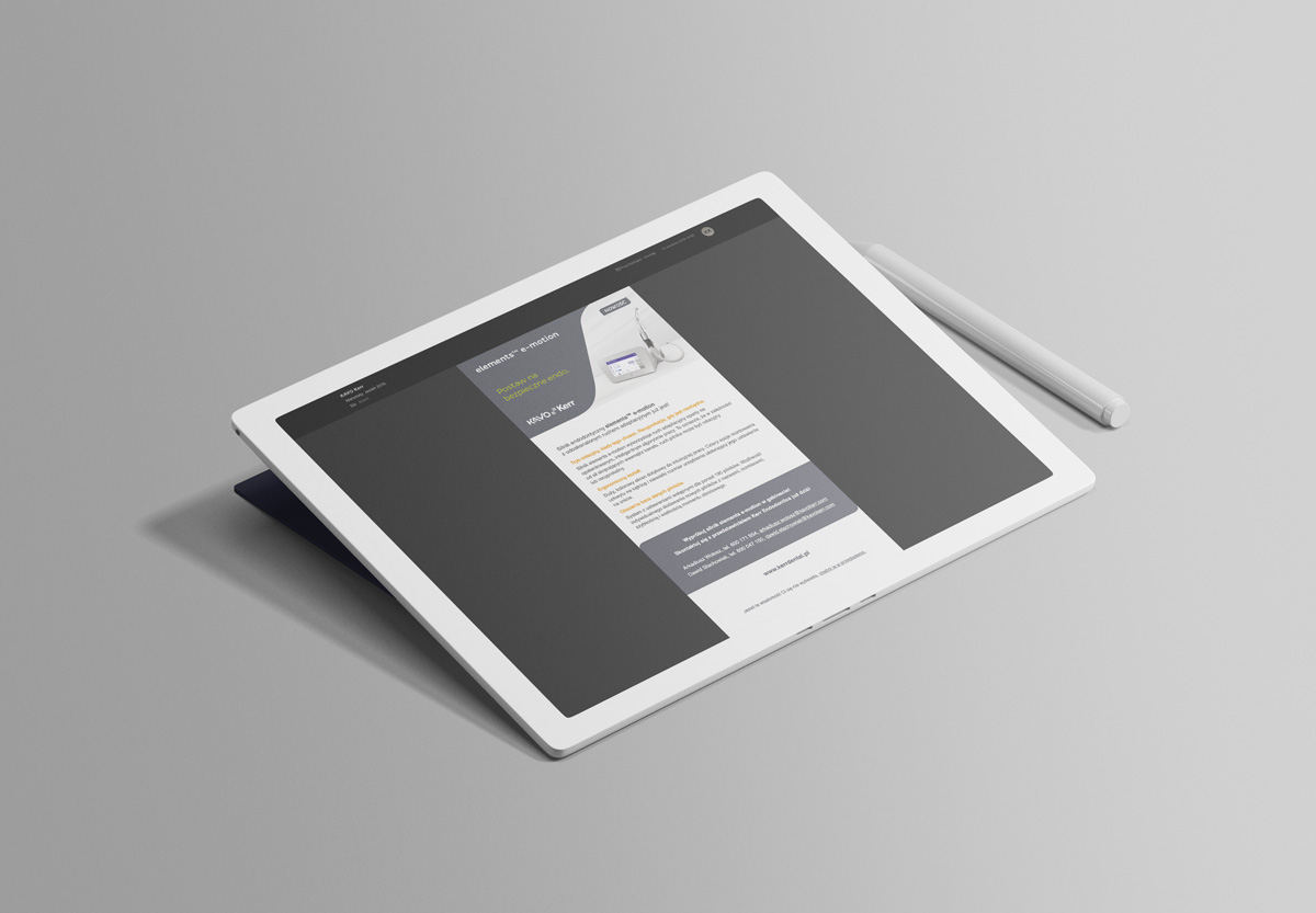 Mailing zawierający ofertę produktową