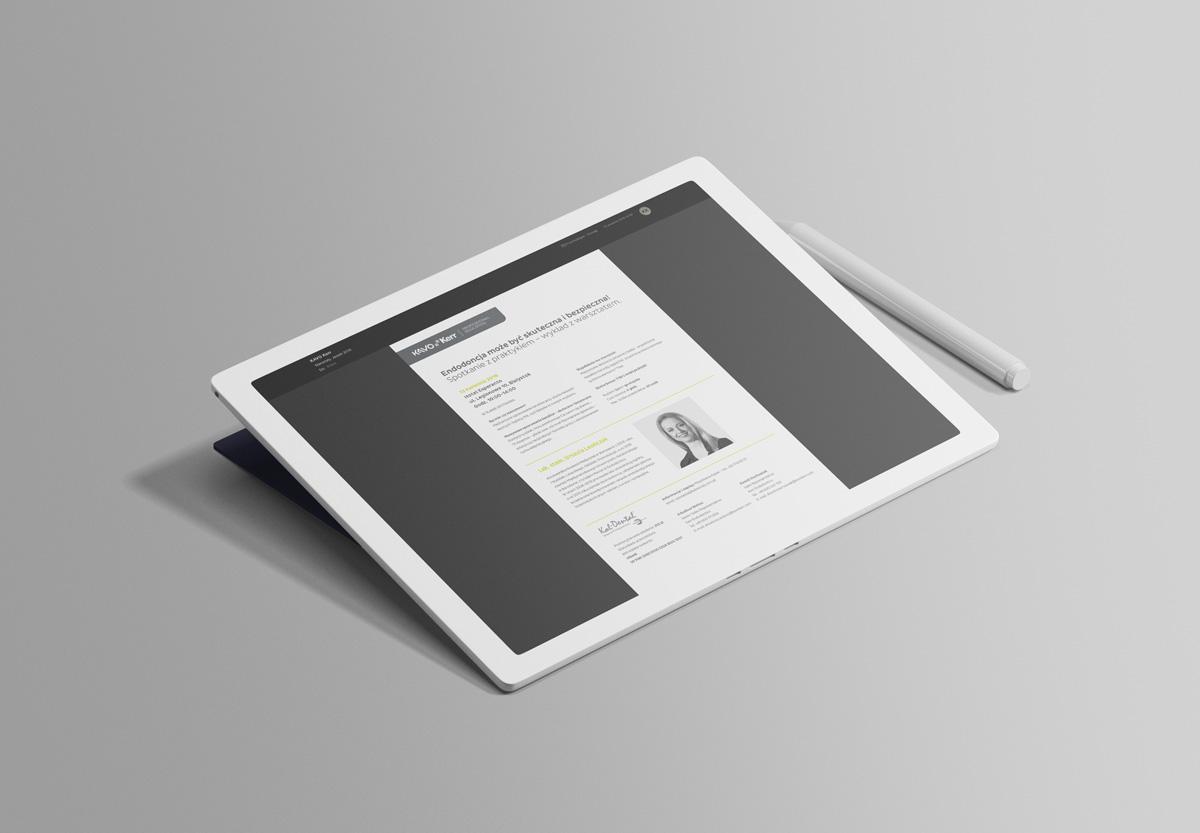 Newsletter – projekt graficzny