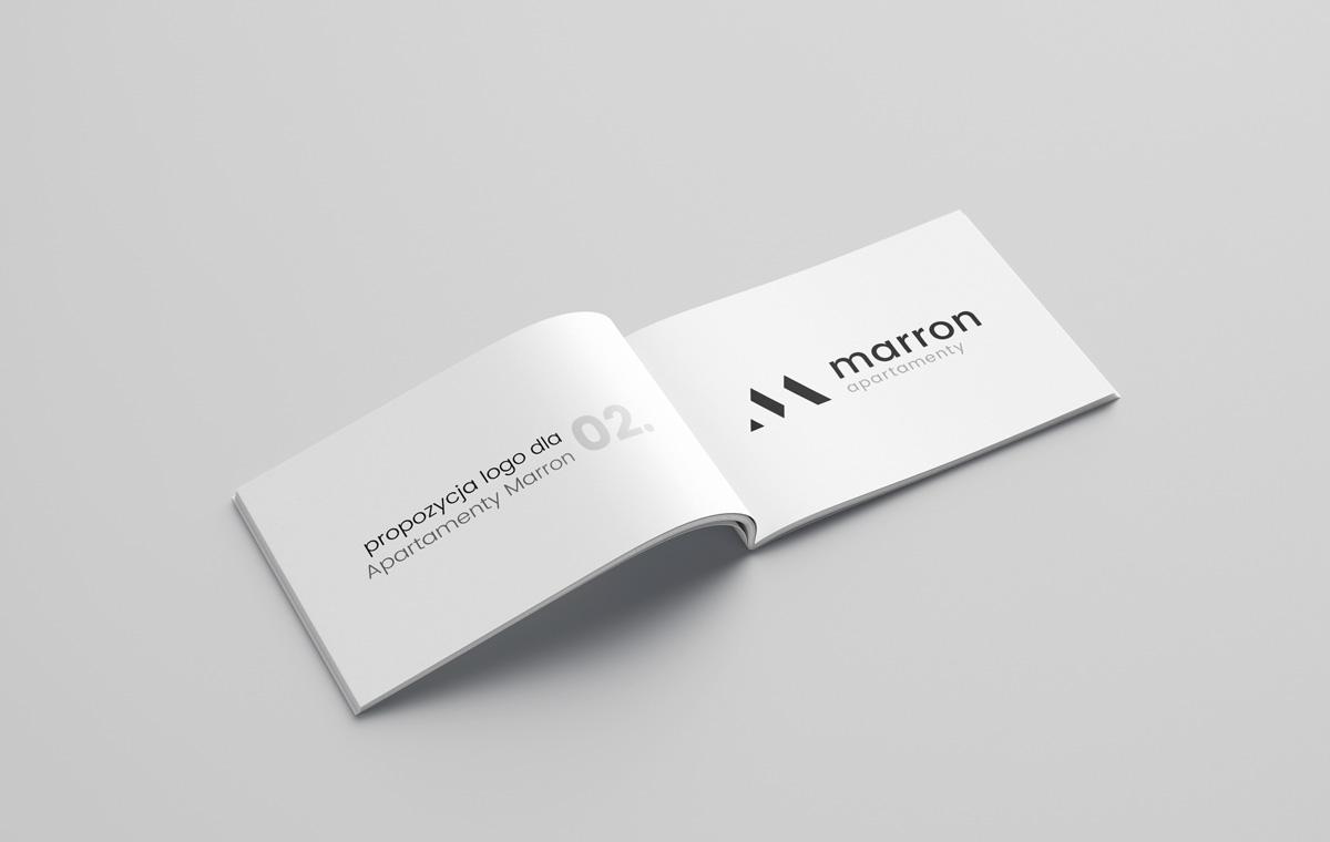 Znak Marron Apartamenty – 2 propozycja