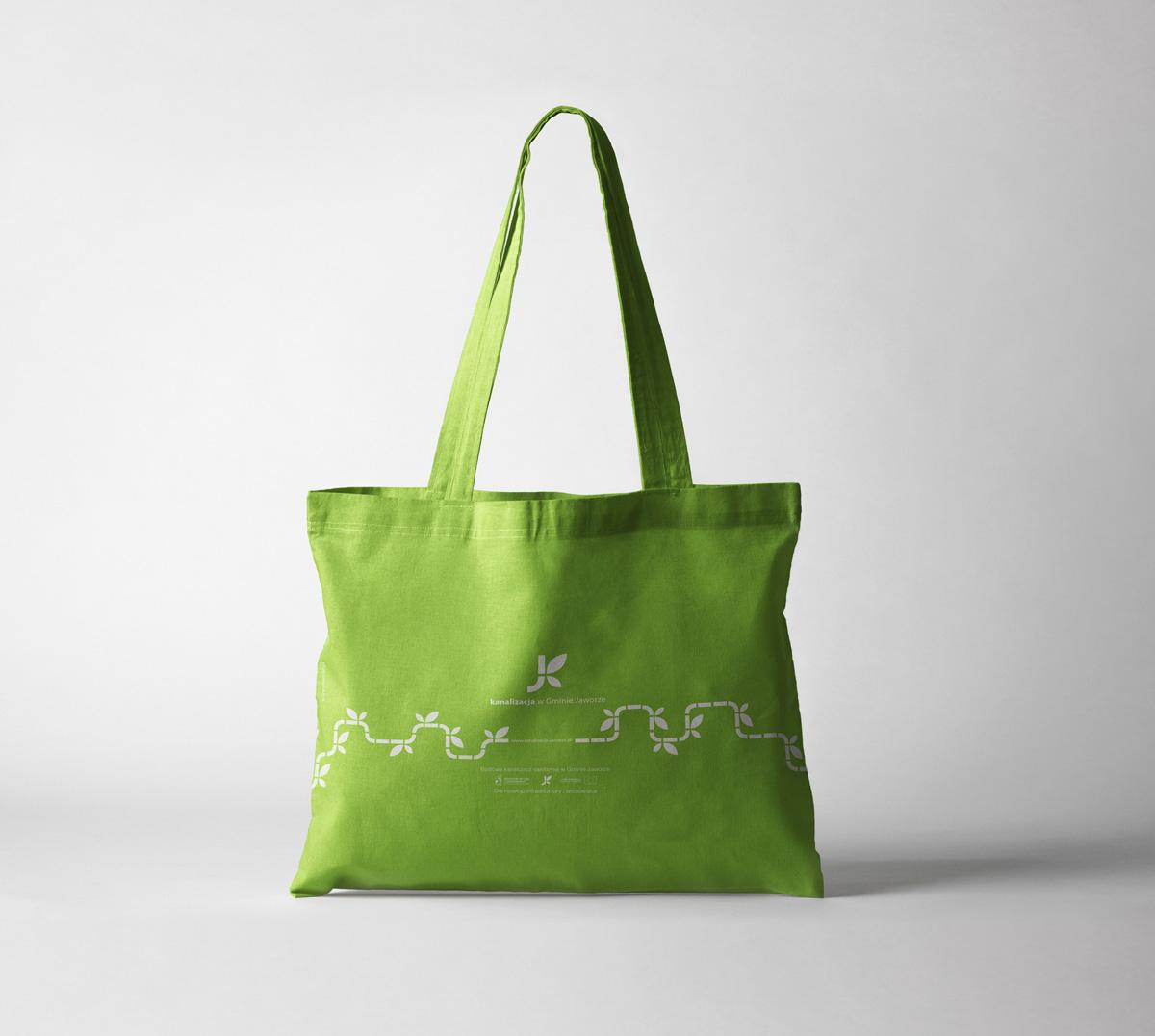Użycie Key Visual w projekcie nadruku na torbę