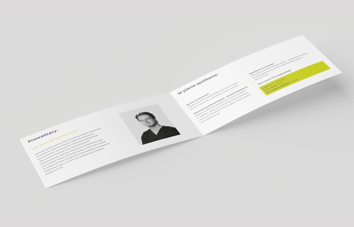 Skład graficzny i tekstowy zgodnie z wytycznymi księgi brandu