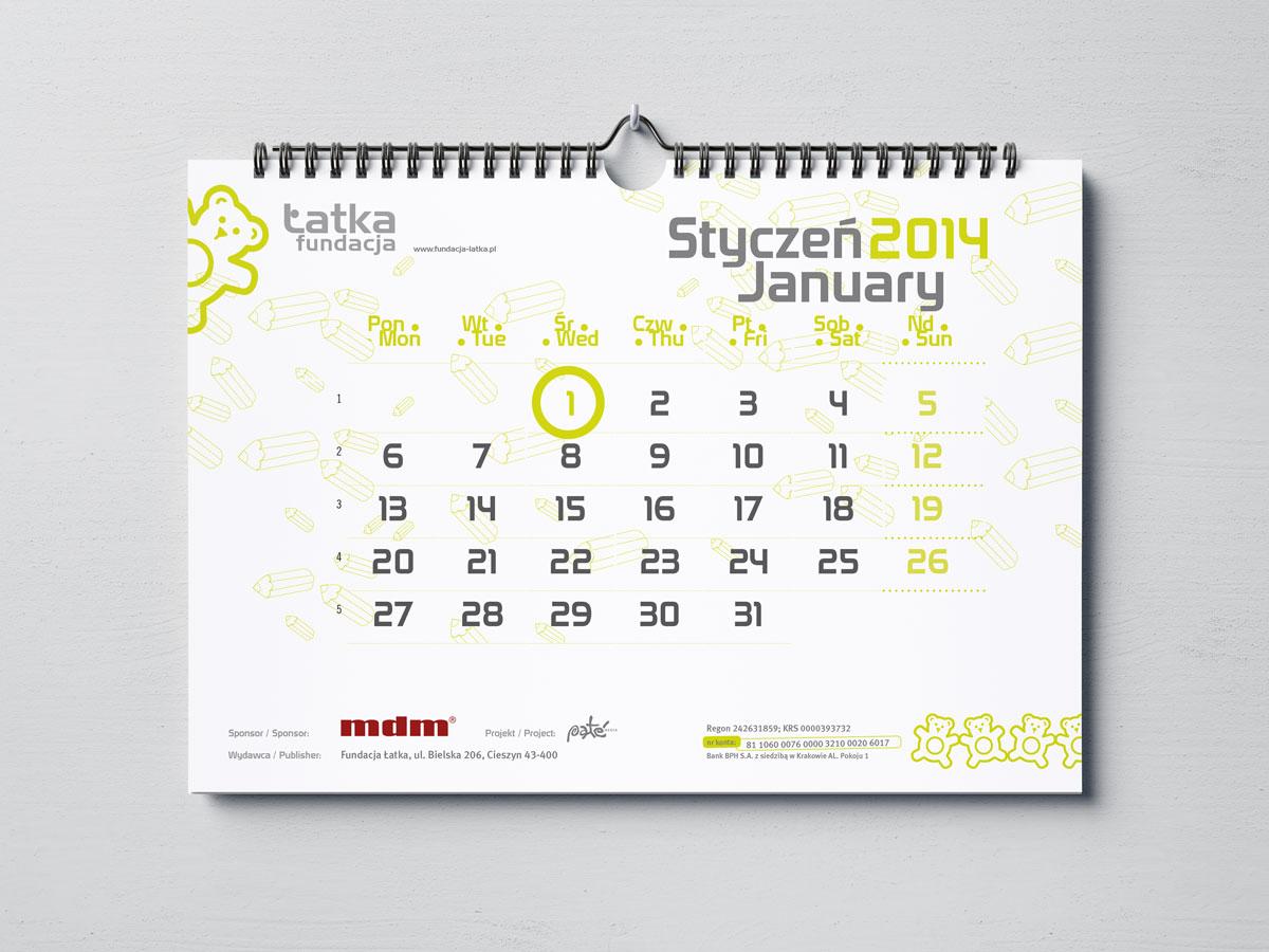 Kalendarium projekt i skład