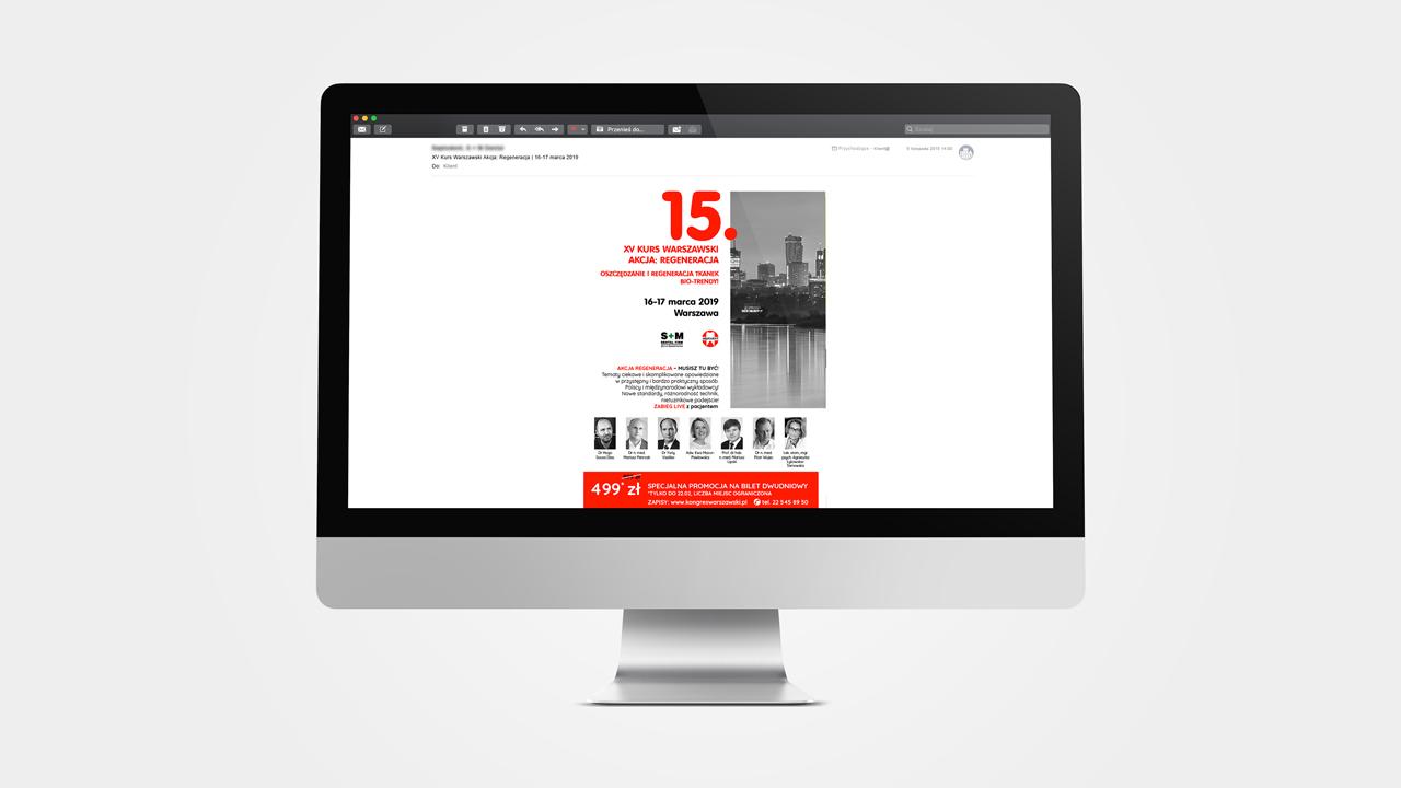 Szablon newslettera – 15 Kurs Warszawski