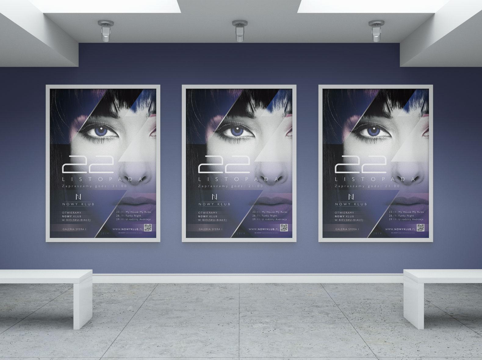 plakaty Nowy Klub
