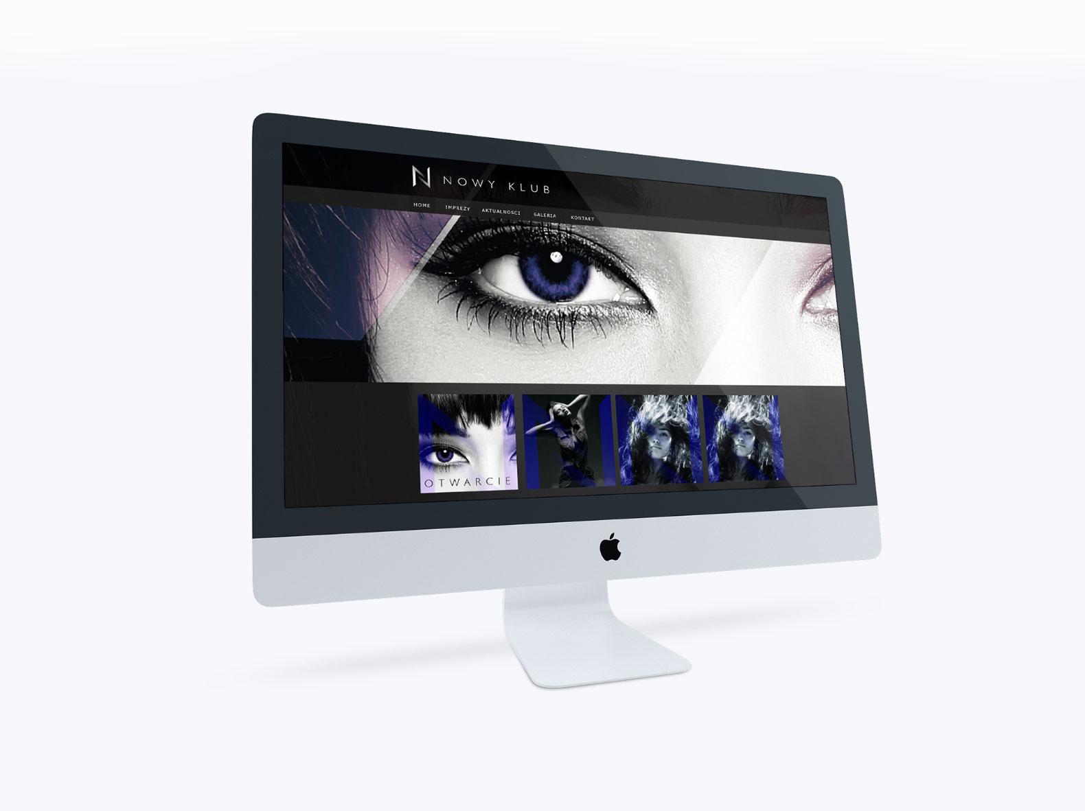strona www Nowy Klub