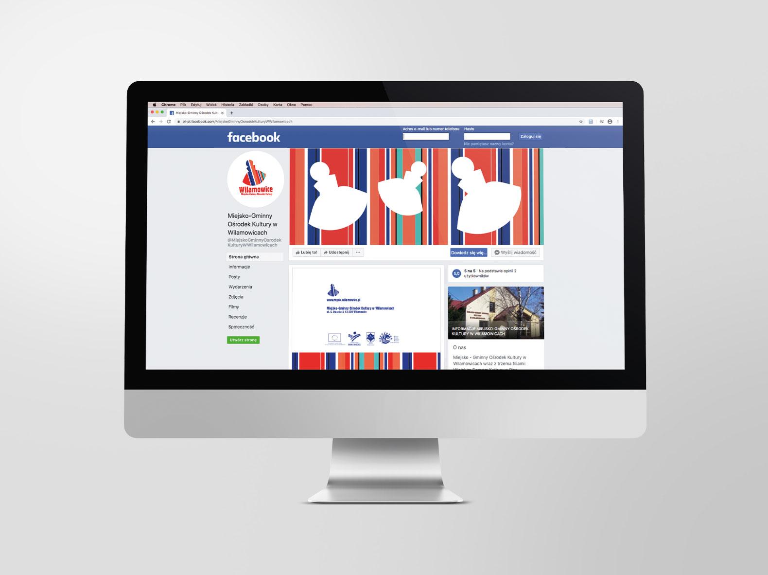 Facebook marketing treści – ikonografika