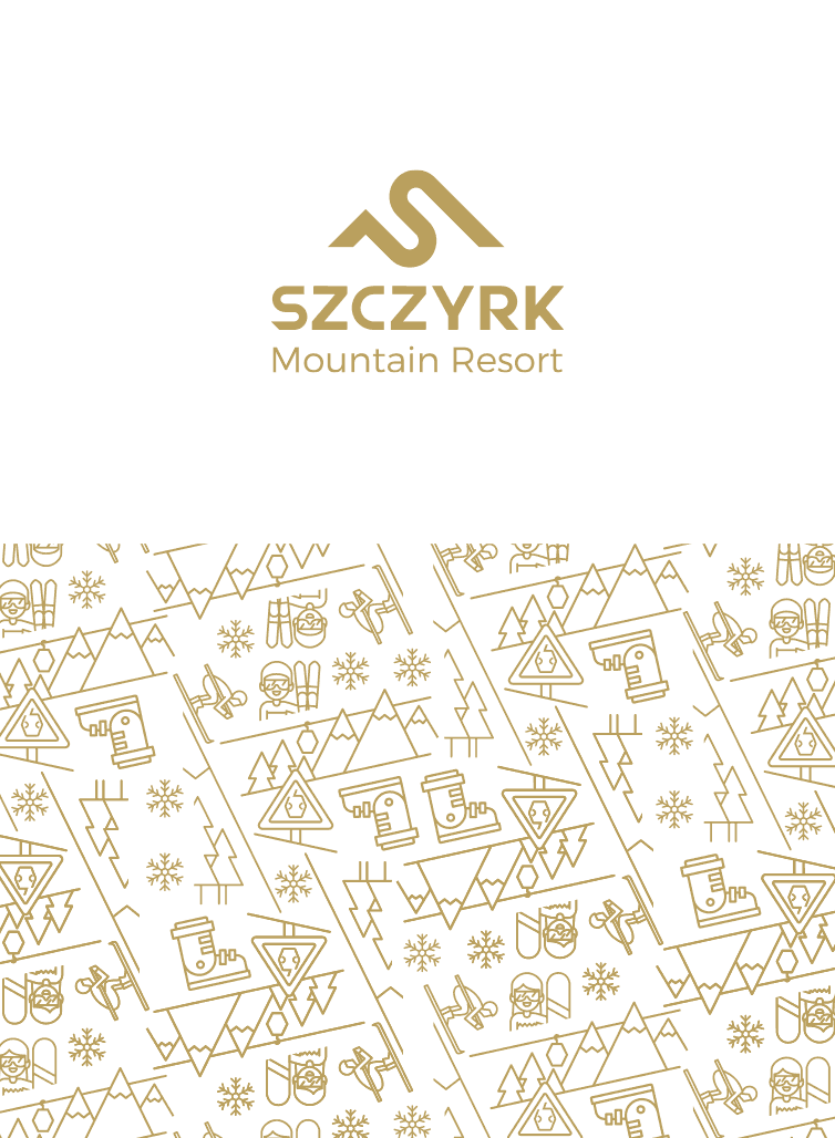 Key Visual resortu narciarskiego Szczyrkowcki