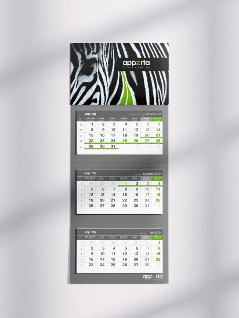 Apperta kalendarz 2009