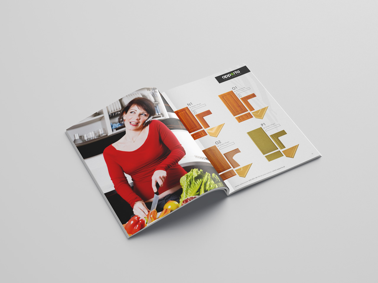 Apperta Fronty Meblowe – projekt katalogu