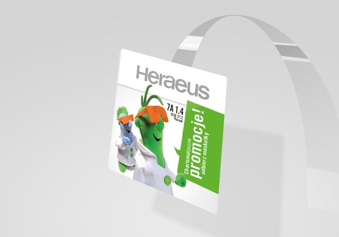 Heraeus reklama handlowa